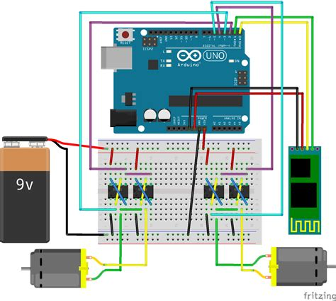 tutorial arduino bluetooth android fritzing project arduino android bluetooth panzer