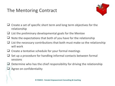 image gallery mentoring agreement