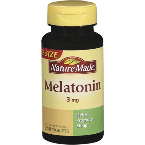 Suplemen Melatonin Nature Made Melatonin 3mg Dietary Supplement Tablets