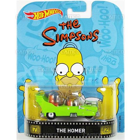 Hotwheels Retro The Simpsons The Homer the homer the simpsons 2016 wheels retro entertainment a camco toys