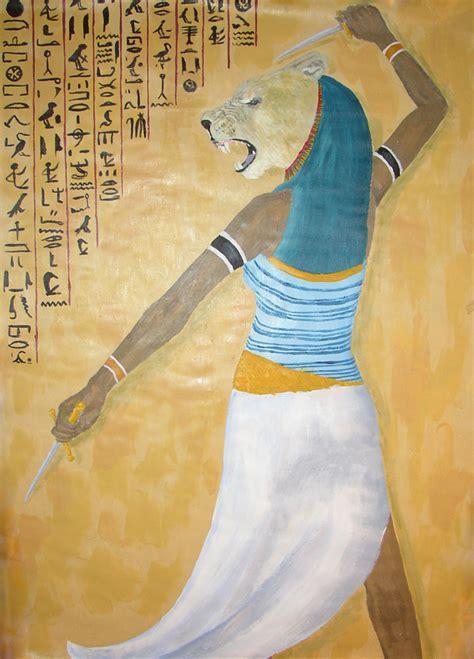 ancient egyptian goddess sekhmet sekhmet the goddess of war by feagaer on deviantart
