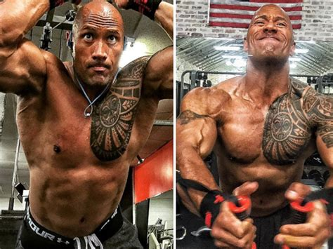 Dominique Ripped 22 ripped photos of the rock for mcm tmz