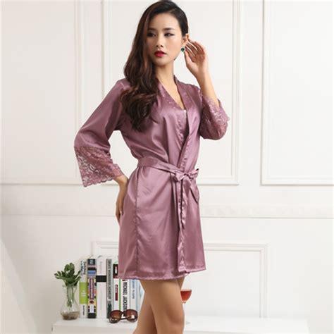 Ss43b Kimono Babydoll Piyama Satin Satin babydoll dress silk satin pajama sleepwear robes nightgown nightwear ebay