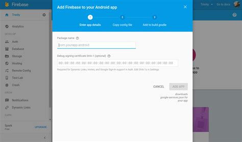 android message not downloaded set up a firebase cloud messaging for android app trinitytuts
