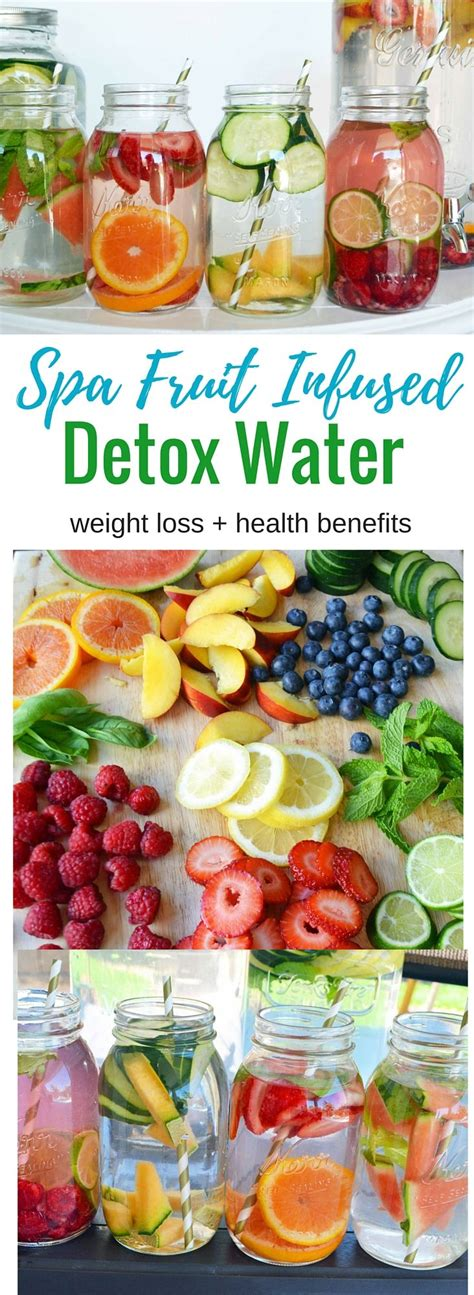 Total Spa Detox Drink Recipe by 25 Best Ideas About Fruit Infused Water On