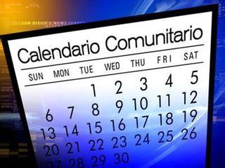 Calendario Comunitario San Diego 2015 Calendario Comunitario San Diego Azteca Story