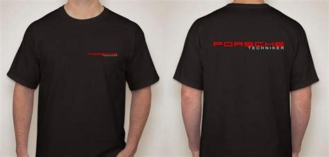Porsche Shirts Sale by New Porsche Techniker Apparel Pelican Parts Technical Bbs