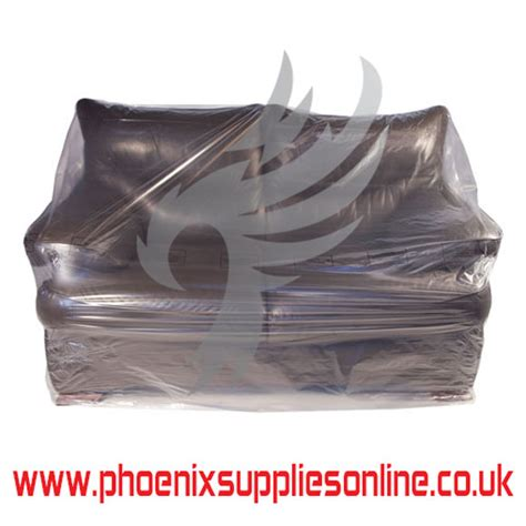 sofa dust cover clear polythene 5 seat sofa dust cover protection storage bags