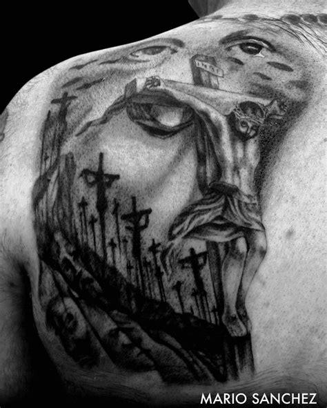 jesus tattoo illusion 40 best realism black tattoos images on pinterest black