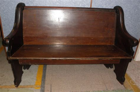 church pew bench for sale church pew dd381 for sale antiques com classifieds