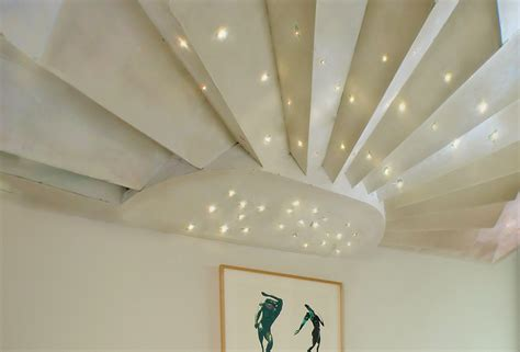 soffitto luminoso soffitto luminoso in cartongesso con fibra ottica