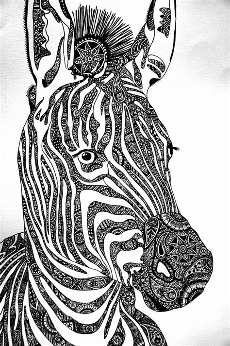 zebra pattern coloring page 17 best images about zebra on pinterest coloring free