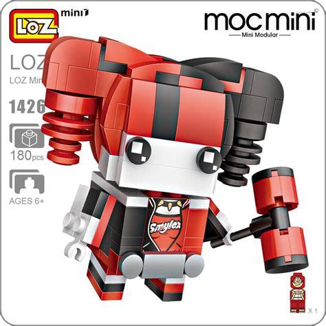 Dijamin Lego Mini Loz Block Superman kawaii loz minons mini blocks minion diy nano
