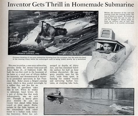 what became of home built submarines atomic toasters