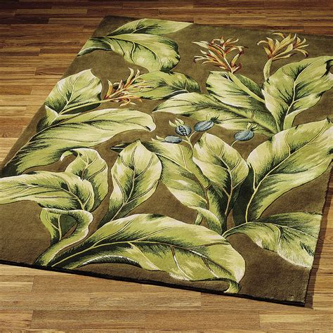 tropical accent rugs tropical paradise area rugs