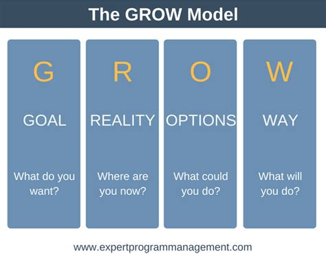 grow coaching template the grow model a simple coaching tool with free template