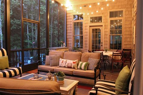 string lights for screened porch screen porch with string lights one day