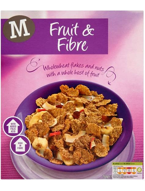 fruit w most fiber healthy cereal the best and worst cereals revealed