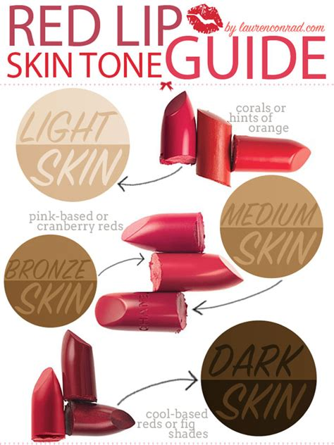 Would You Match Your Lipstick To Your by Primp Tip The Best Reds For Your Skin Tone Conrad