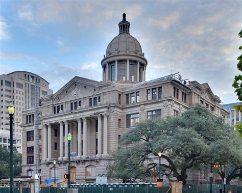 File Harris County Courthouse Of 1910 Houston Hdr Jpg Wikimedia Commons