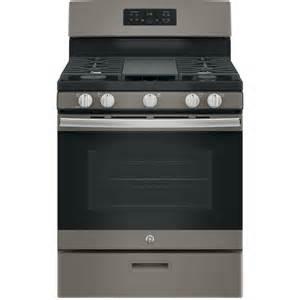 Kitchen Design Cincinnati shop ge 5 burner freestanding 5 cu ft gas range slate