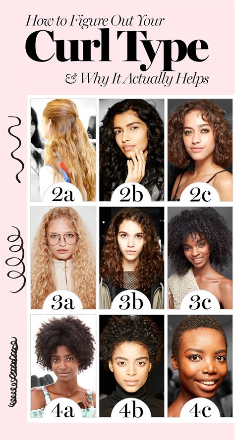 hairstyles type how to figure out your curly hair type and why it actually