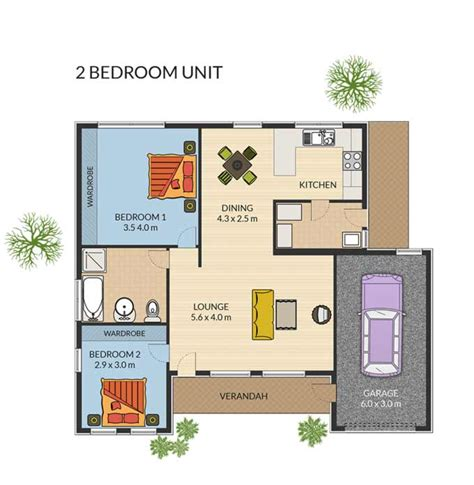 retirement floor plans 3 bedroom units