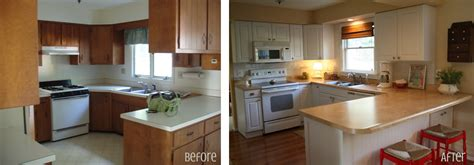 before and after kitchen cabinets graphic made kitchen before after