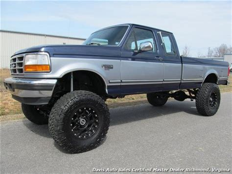 extended bed 1994 ford f 250 xlt 4x4 extended cab bed