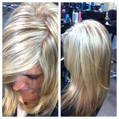 platinum highlights for graying brunette hair platinum highlights with wheat blonde lowlights mind