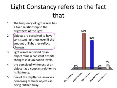 color constancy refers to the fact that ppt perception powerpoint presentation id 1432134