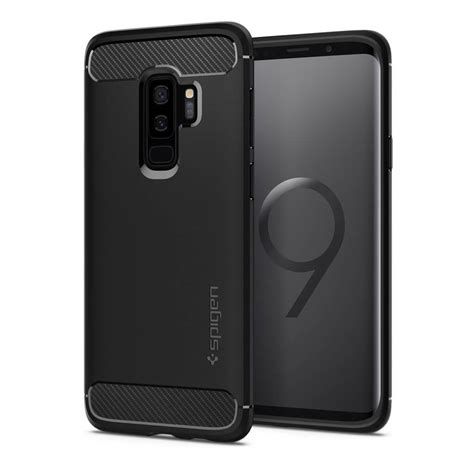 Spigen Galaxy S9 Rugged Clear Tpu Soft Clear Anti spigen 174 rugged armor 593cs22921 samsung galaxy s9 plus matte black spaceboy