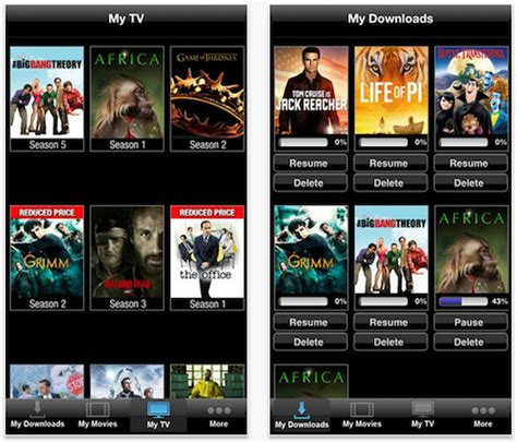 a app to download free movies vudu ios app updated with ability to download movies for