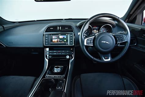 jaguar upholstery jaguar xe 2016 interior www pixshark com images