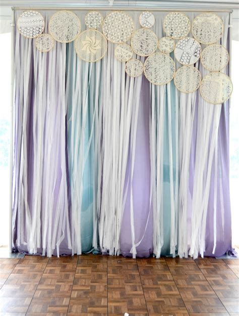 party curtains decorations doily decor diy rb planners