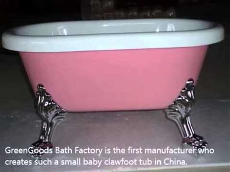 baby clawfoot bathtub baby clawfoot tub baby bathtub youtube