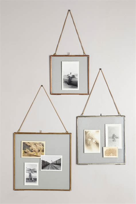 how to hang a picture frame viteri hanging frame anthropologie