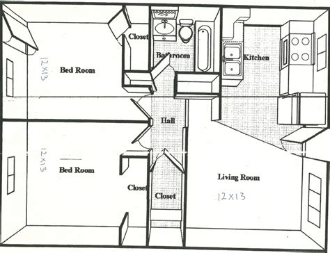 floor plans under 500 sq ft 500 sq feet house plans