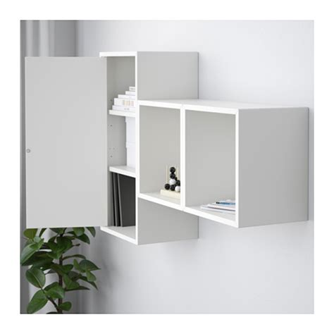 ikea eket review eket wall mounted cabinet combination white 105x25x70 cm