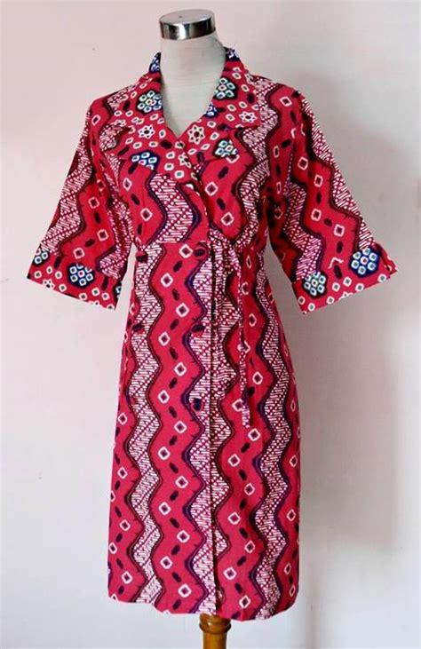 Zenna Ribbon Dress Atasan Blouse Baju Batik Fashion Wanita blouse dan dress blouse styles