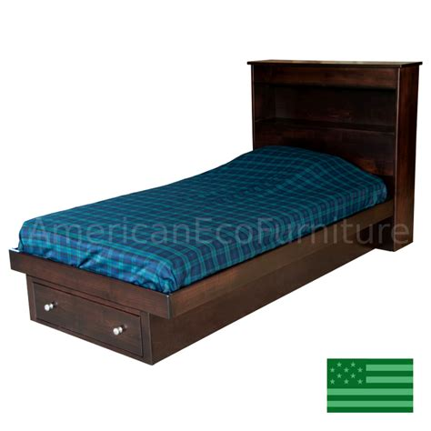Amish Mattress Prices by Amish Trenton Bookcase Bed Solid Wood Usa Made Children
