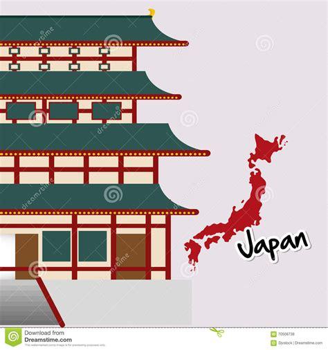 flat icon design japan flat illustration of japan design stock vector image