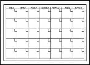 11x17 Calendar Template by Free Printable 11x17 Monthly Calendar Calendar Template 2016