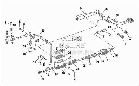 harley davidson xr1200 wiring diagram harley touring