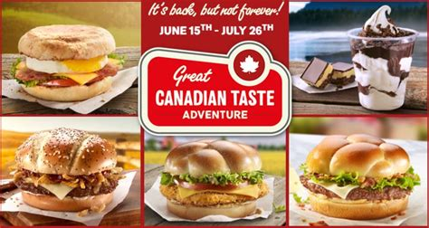 Taste Canada by Canadiana Inspired Menus Great Canadian Taste Adventure