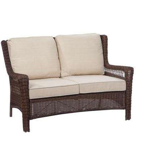 outdoor furniture loveseat awesome wicker loveseat patio furniture outdoor loveseats
