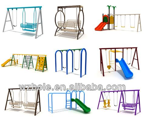 cheap metal swing sets for kids cheap used kids outdoor playground equipment galvanized