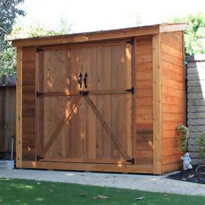 outdoor living today spacesaver 9 ft w x 5 ft d wood