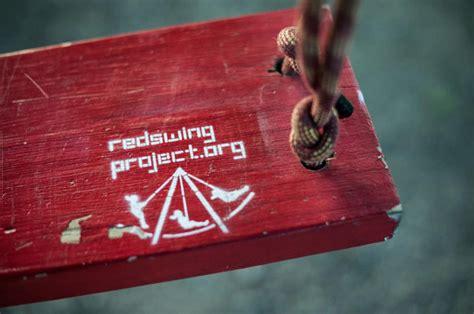 red swing project 슬로워크 도시 속의 빨간 변화 red swing project