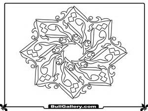 islamic art colouring pages